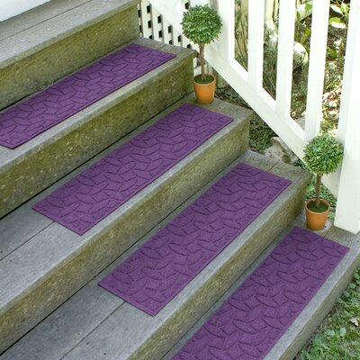 Amald Elipse Stair Tread Color: Purple