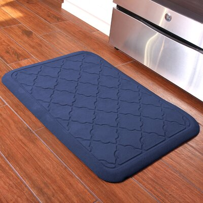 Romain Surfaces Heavenly Onyx Anti-Fatique Kitchen Mat Color: Navy