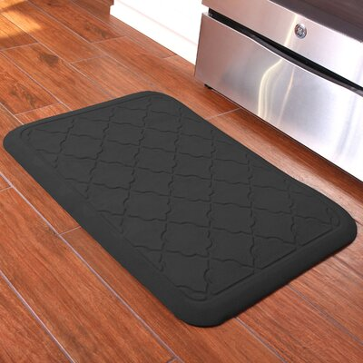 Romain Surfaces Heavenly Onyx Anti-Fatique Kitchen Mat Color: Charcoal