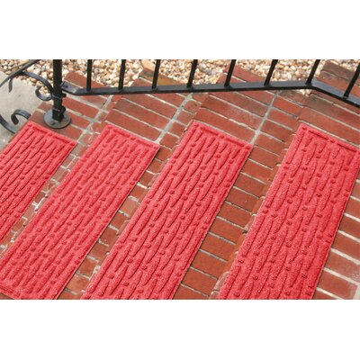 Amald Mesh Stair Tread Color: Solid Red