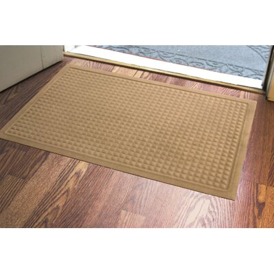 Amalda Soft Impressions Doormat Color: Latte