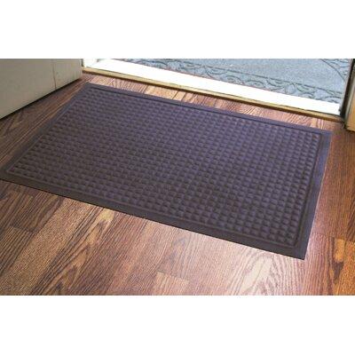 Amalda Soft Impressions Doormat Color: Navy