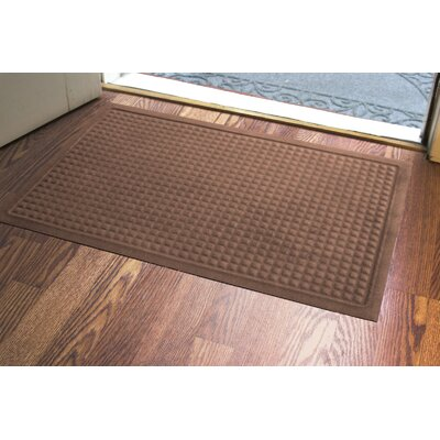 Amalda Soft Impressions Doormat Color: Chocolate