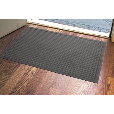Amalda Soft Impressions Doormat Color: Charcoal