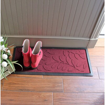 Amald Brittany Leaf Boot Tray Color: Bordeaux