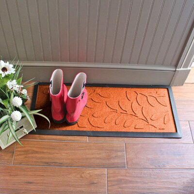 Amald Brittany Leaf Boot Tray Color: Orange