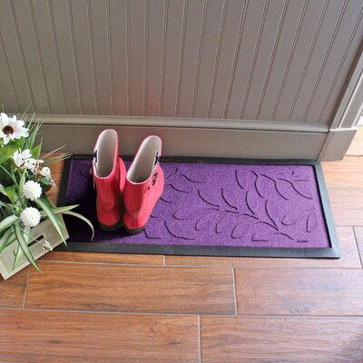 Amald Brittany Leaf Boot Tray Color: Purple