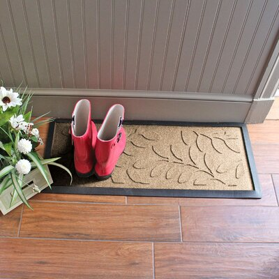 Amald Brittany Leaf Boot Tray Color: Camel