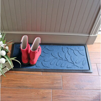 Amald Brittany Leaf Boot Tray Color: Medium Blue