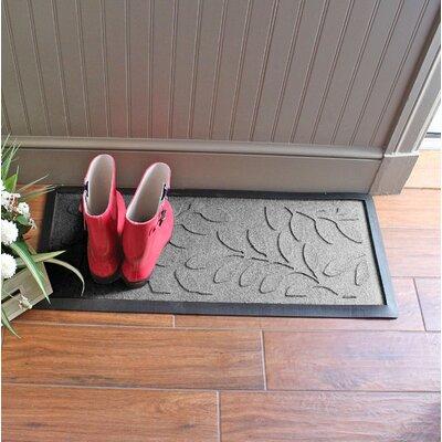 Amald Brittany Leaf Boot Tray Color: Medium Gray