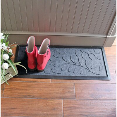Amald Brittany Leaf Boot Tray Color: Bluestone