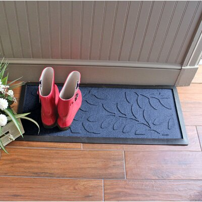 Amald Brittany Leaf Boot Tray Color: Navy