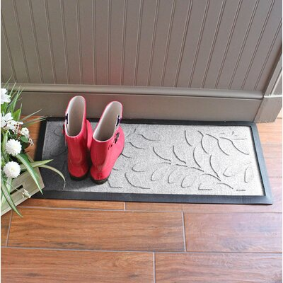 Amald Brittany Leaf Boot Tray Color: White
