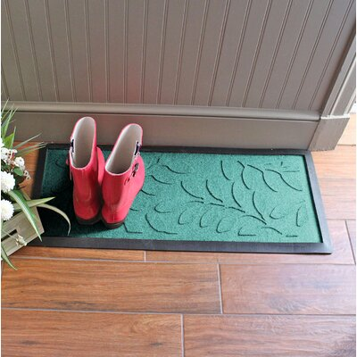 Amald Brittany Leaf Boot Tray Color: Aquamarine