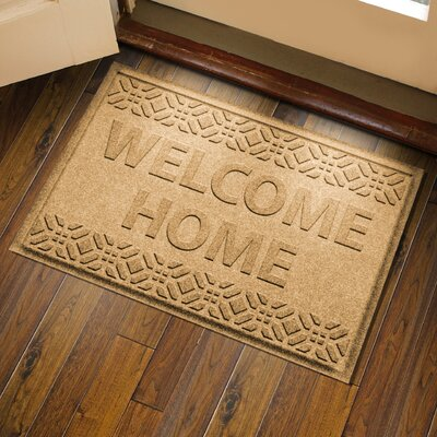 Amald Welcome Home Doormat Color: Gold