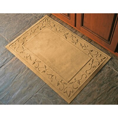 Deidre Vine Doormat Rug Size: Rectangle 2 x 3, Color: Montego Latte