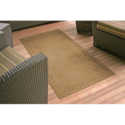 Soft Impressions Vine Doormat Rug Size: 34 x 68, Color: Montego Latte