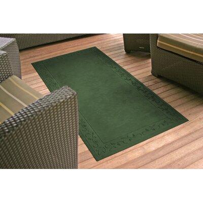 Soft Impressions Vine Doormat Rug Size: 34 x 52, Color: Montego Green