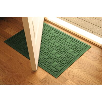 Aqua Shield Light Green Nautical Mat