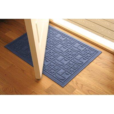 Aqua Shield Medium Blue Nautical Mat