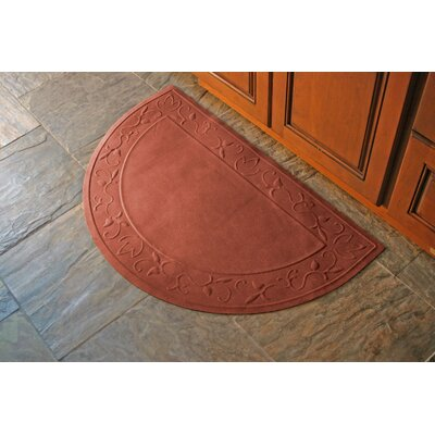 Deidre Vine Doormat Rug Size: Rectangle 34 x 68, Color: Charcoal