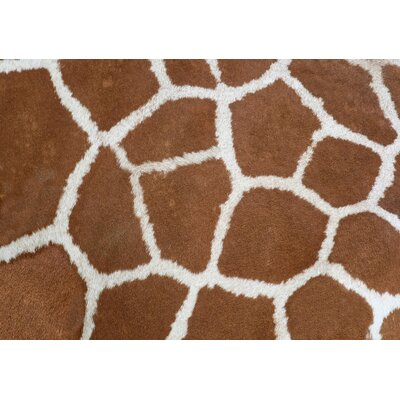 Fo Flor Giraffe Doormat Rug Size: 46 x 66, Color: Multi