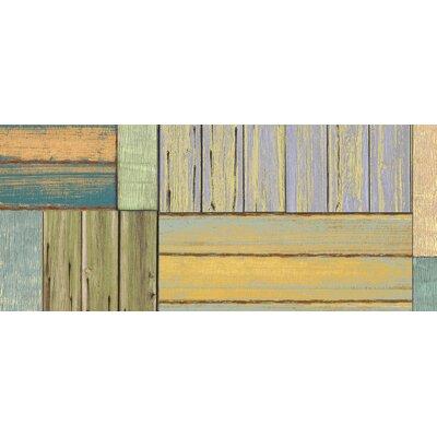 Fo Flor Patchwork Doormat Rug Size: 25 x 60