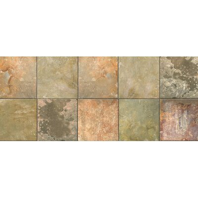 Fo Flor Clean Slate Doormat Rug Size: 25 x 60, Color: Warm