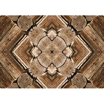 Fo Flor Rustic Real Doormat Rug Size: 23 x 36, Color: Multi