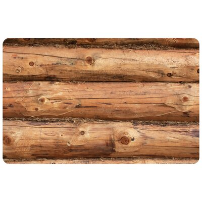 Fo Flor Log Jammer Doormat Rug Size: 23 x 36