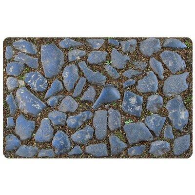 Fo Flor Stones Doormat Rug Size: 23 x 36