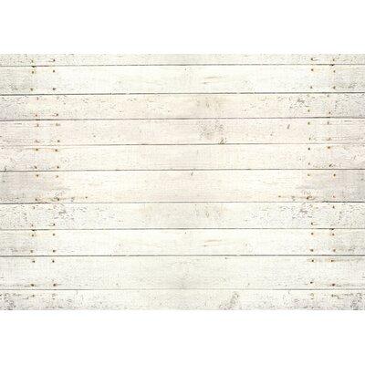 Fo Flor Whitewash Doormat Rug Size: 25 x 60, Color: White