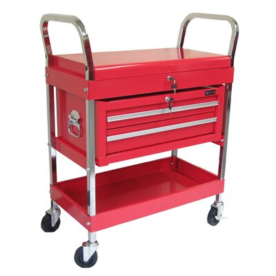 Excel Rolling Metal Tool Cart with 2 Drawers at Sears.com