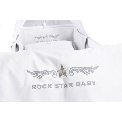 Weiss Bezug Nestchen 100 Baumwolle Babybetten Babywiegen Online