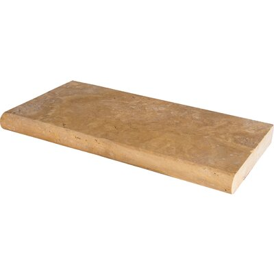 Riviera Travertine Brushed Coping (Set of 4)