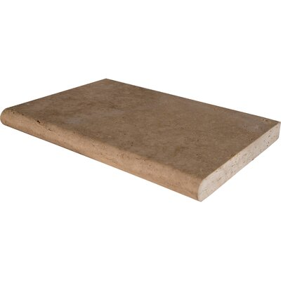 Mediterrranean Travertine Brushed Coping (Set of 3)