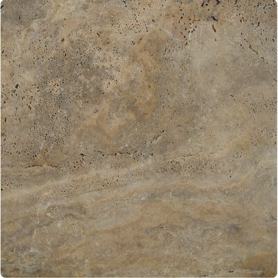 Porcini Travertine Tumbled Paver (Set of 6)