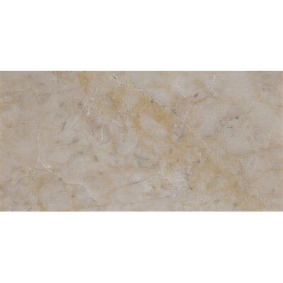 3 x 6 Marble Tile in Cream Cappuccino