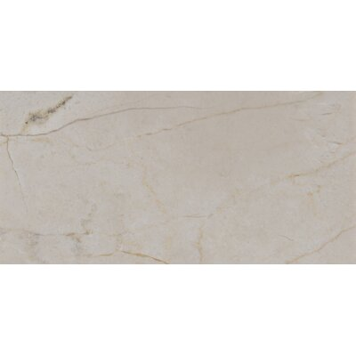 3 x 6 Marble Tile in Polished Cream and Beige