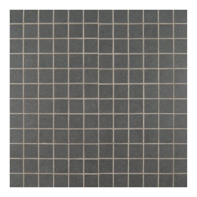 2 x 2 Porcelain Mosaic Tile in Gray