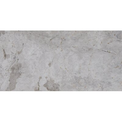 3 x 6 Marble Tile in Tundra Gray