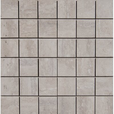 Veneto 2 x 2 Porcelain Mosaic Tile in White