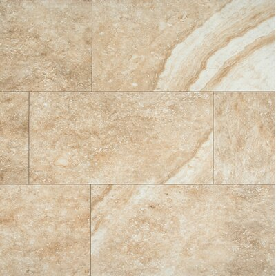 Aliso 12 x 24 Ceramic Field Tile in Beige