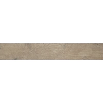 Country River 6 x 36 Porcelain Wood Tile in Stone