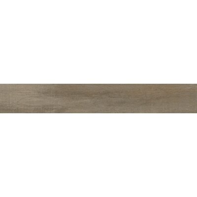 Capella 6 x 40 Porcelain Wood Tile in Neutral Brown
