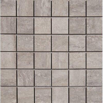 Veneto 2 x 2 Porcelain MosaicTile in Gray