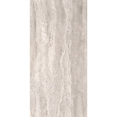 Pietra Venata 16 x 32 Porcelain Field Tile in White