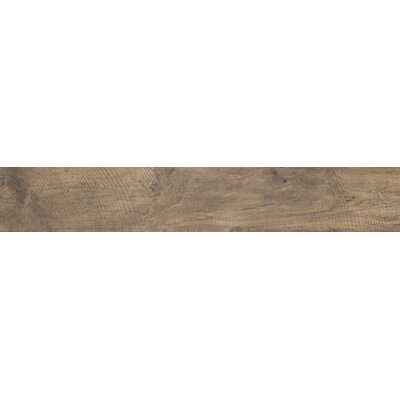 Country River 6 x 36 Porcelain Wood Tile in Moss