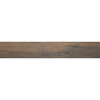 Country River 6 x 36 Porcelain Wood Tile in Bark