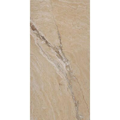 Pietra Vezio 16 x 32 Porcelain Filed Tile in Beige